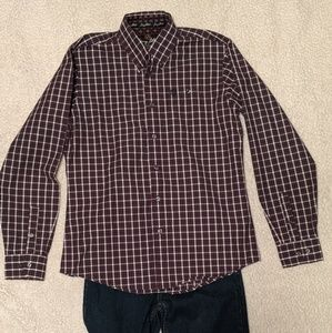 George Strait by Wrangler Big Boys shirt sz XL